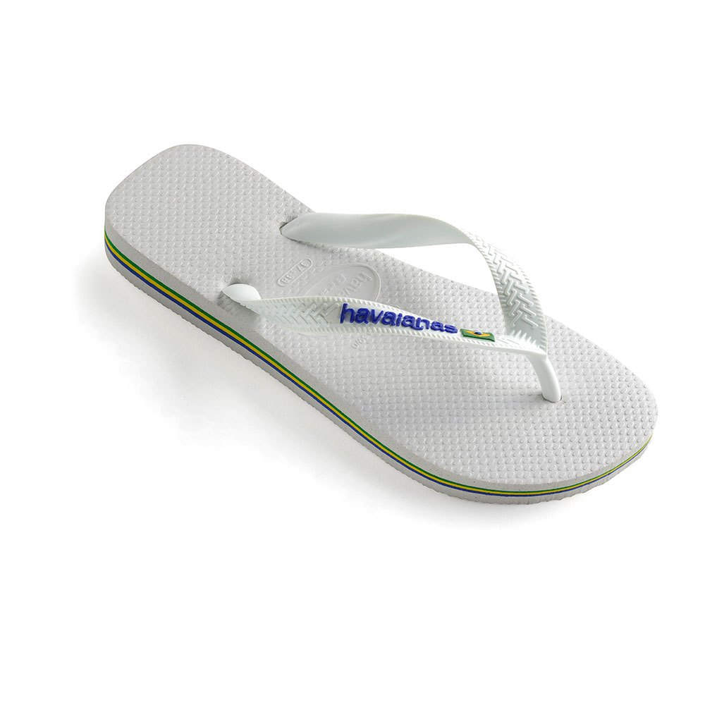 new product 8f978 a33e8 Havaianas Brasil Logo White Unisex