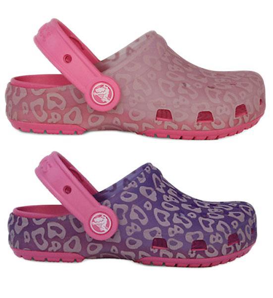 b2bfc810a1c56 Crocs Crocs Chameleons Translucent Clog Kids Leopard