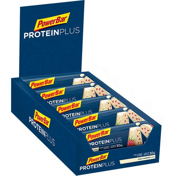 Powerbar Protein Plus 33 90gr 10 Units Vanilla&Raspberry