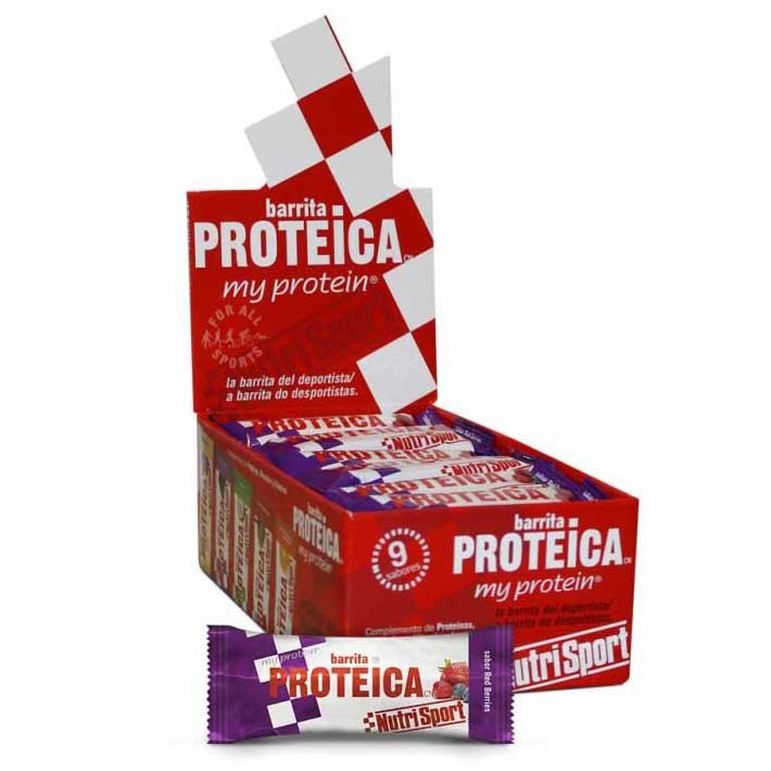 Nutrisport Protein 24 Units Red Berries