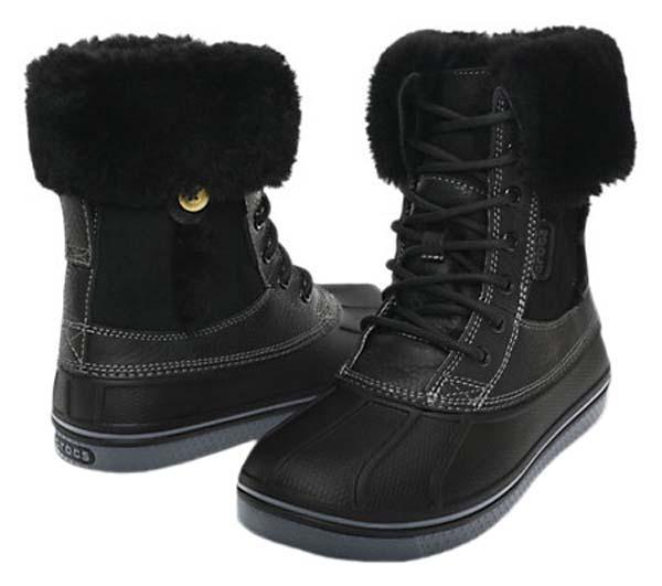 Crocs AllCast Luxe Duck Boot buy and offers on Swiminn 42e2330a3