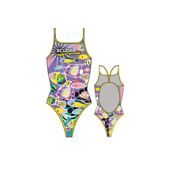 Turbo Scuba Girl Thin Strap