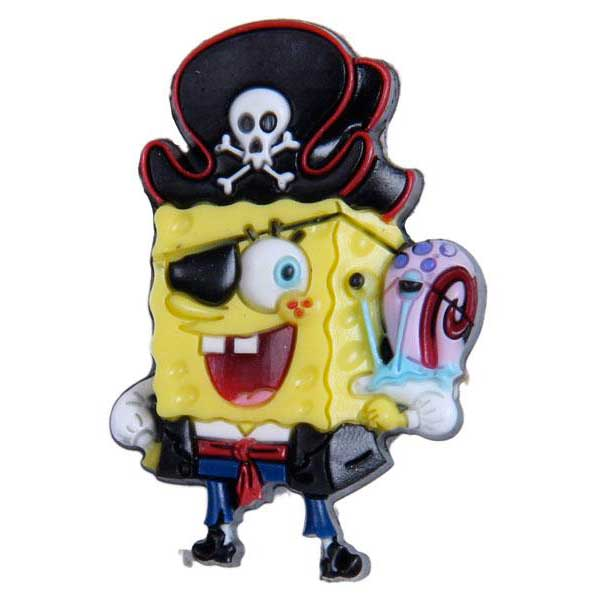 Jibbitz 3D Spongebob Pirate