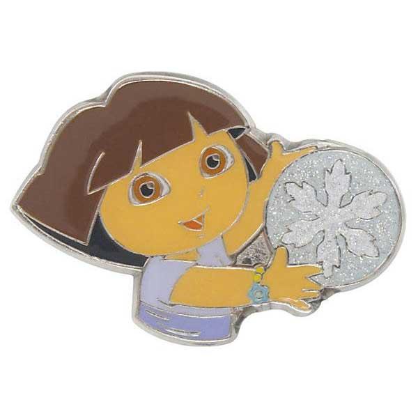 Dora Snowflake Glitter Card