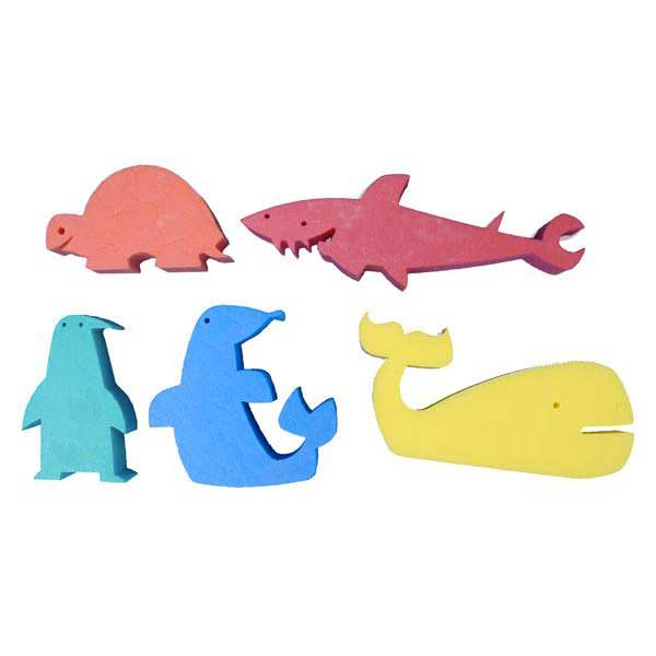 Leisis Foam Marine Figures