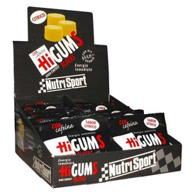 Nutrisport HiGums With Caffeine 20 Units Citrus