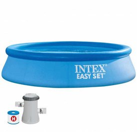 Intex Easy Set With Filter Cartridge Pump 244x61 cm Pool