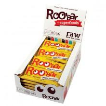 Roo´bar Raw Energy Bar Maca And Cranberries 30gr X 20