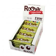 Roo´bar Raw Energy Bar Cáñamo Proteina y Chia 30gr X 20