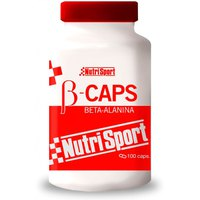 Nutrisport B Caps Beta Alanina 100 Units