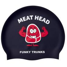 Funky trunks Silicone Swimming Cap