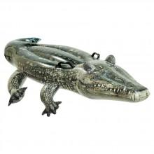 Intex Inflatable Realistic-looking Crocodile + 2 Handles