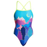Turbo Kriptonite Revolution Costume da bagno Donna, yellow