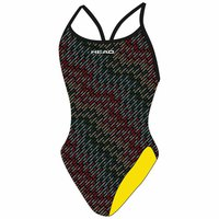 Head swimming Team Printed Seamless Med Leg