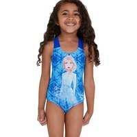Speedo Disney Fozen 2 Elsa Digital Placement Swimsuit