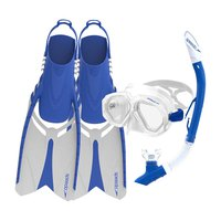 Speedo Leisure Dual Lenses and Fins Set