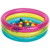 Intex Inflatable Ball Pool With 50 Coloured Balls