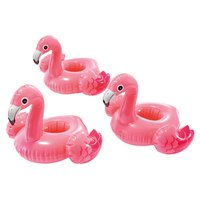 Intex Set Of 3 Flamingo Cup Holders