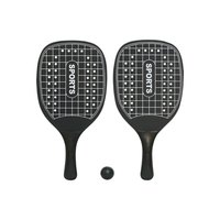 Softee Competition Wooden Racket Set