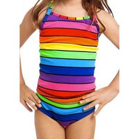 Funkita Rainbow Racer Tankini & Brief Toddler